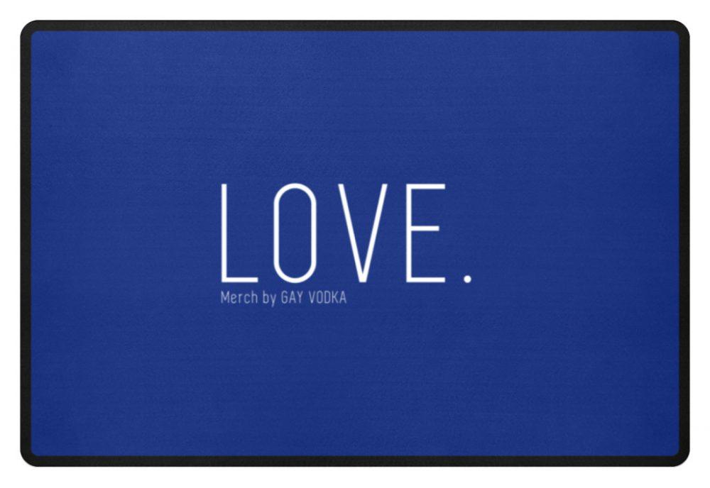 LOVE. - Fußmatte-27