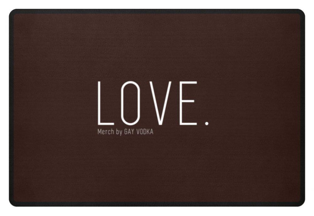 LOVE. - Fußmatte-1074