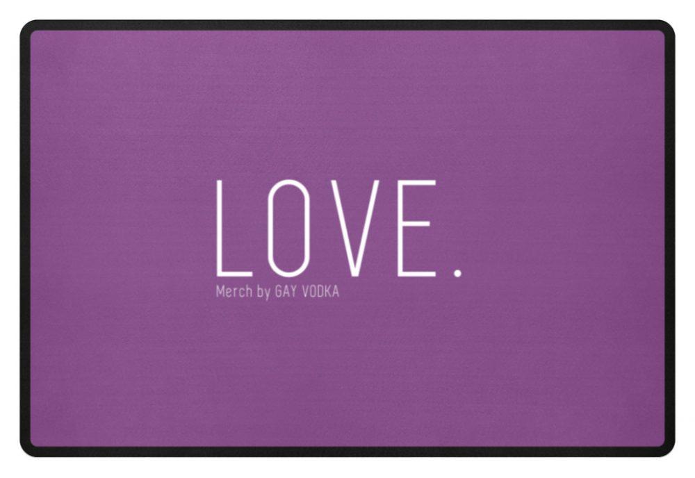 LOVE. - Fußmatte-31