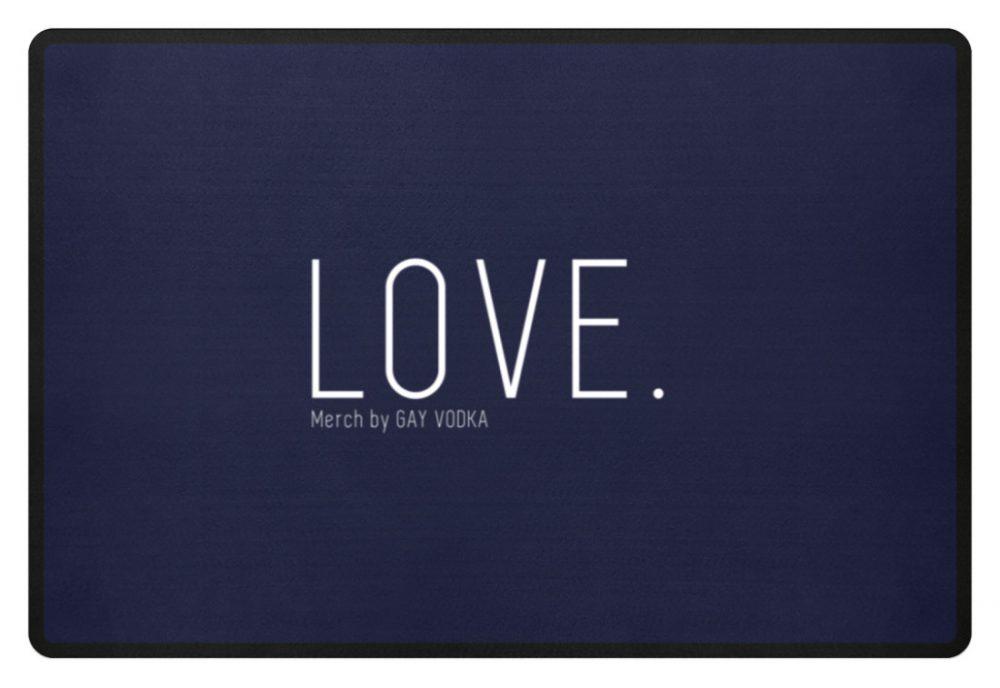 LOVE. - Fußmatte-198