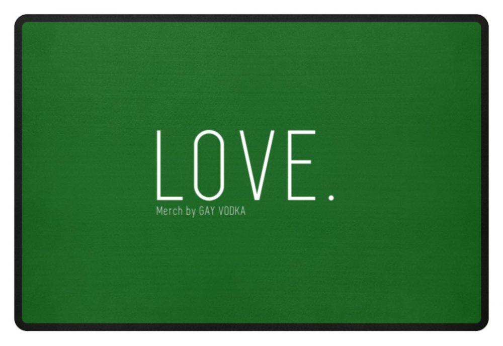 LOVE. - Fußmatte-718