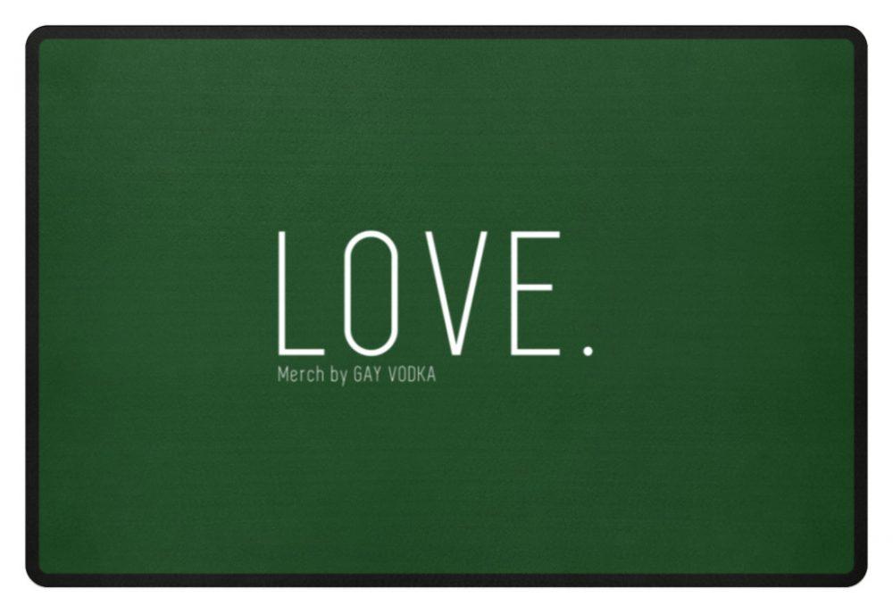 LOVE. - Fußmatte-833