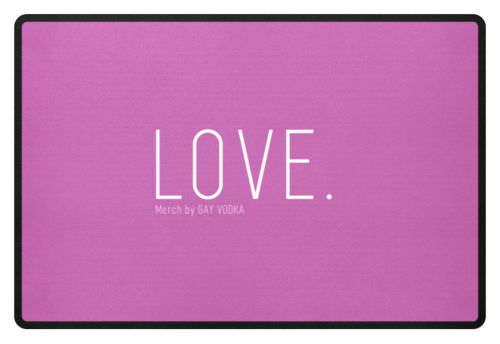 LOVE. - Fußmatte-5759