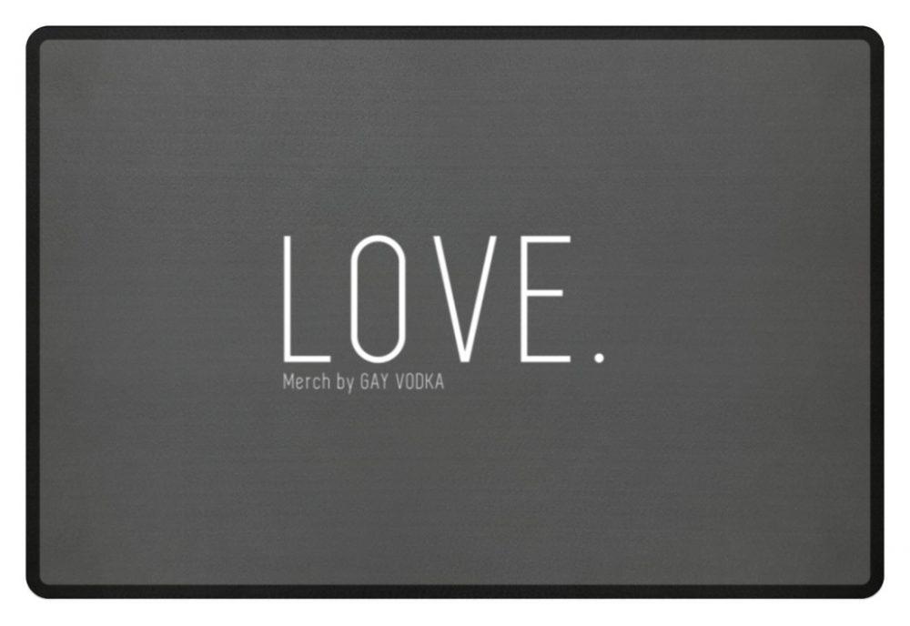LOVE. - Fußmatte-6778
