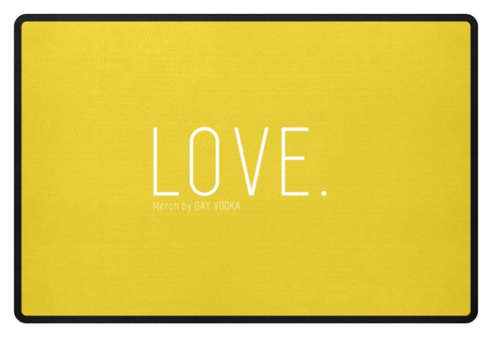 LOVE. - Fußmatte-5766
