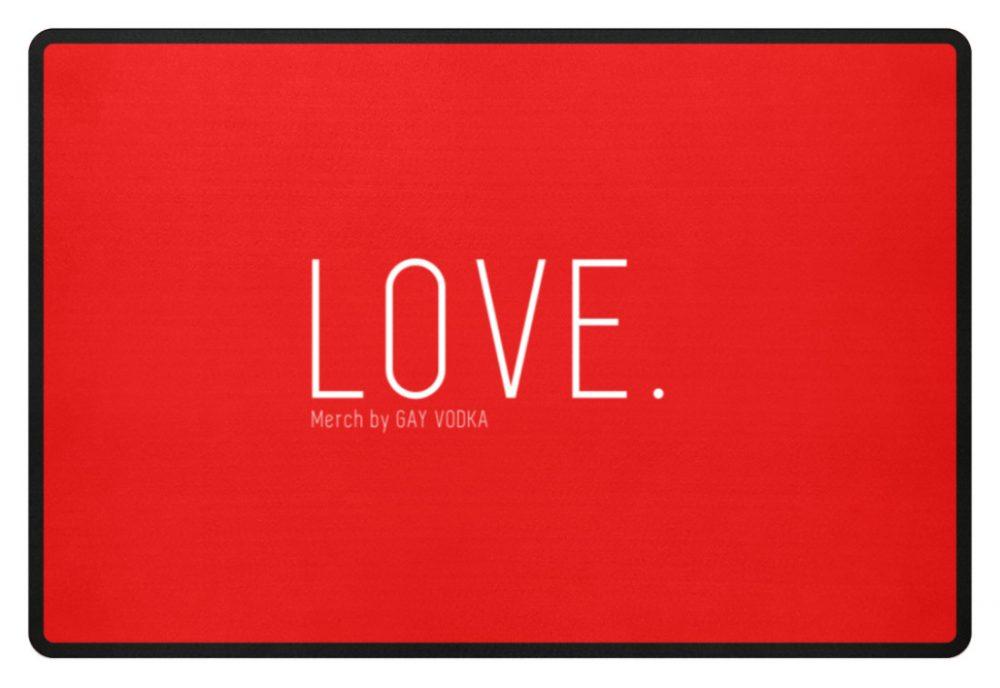 LOVE. - Fußmatte-5761