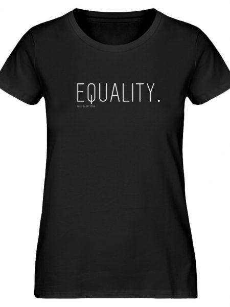 EQUALITY. - Damen Premium Organic Shirt-16