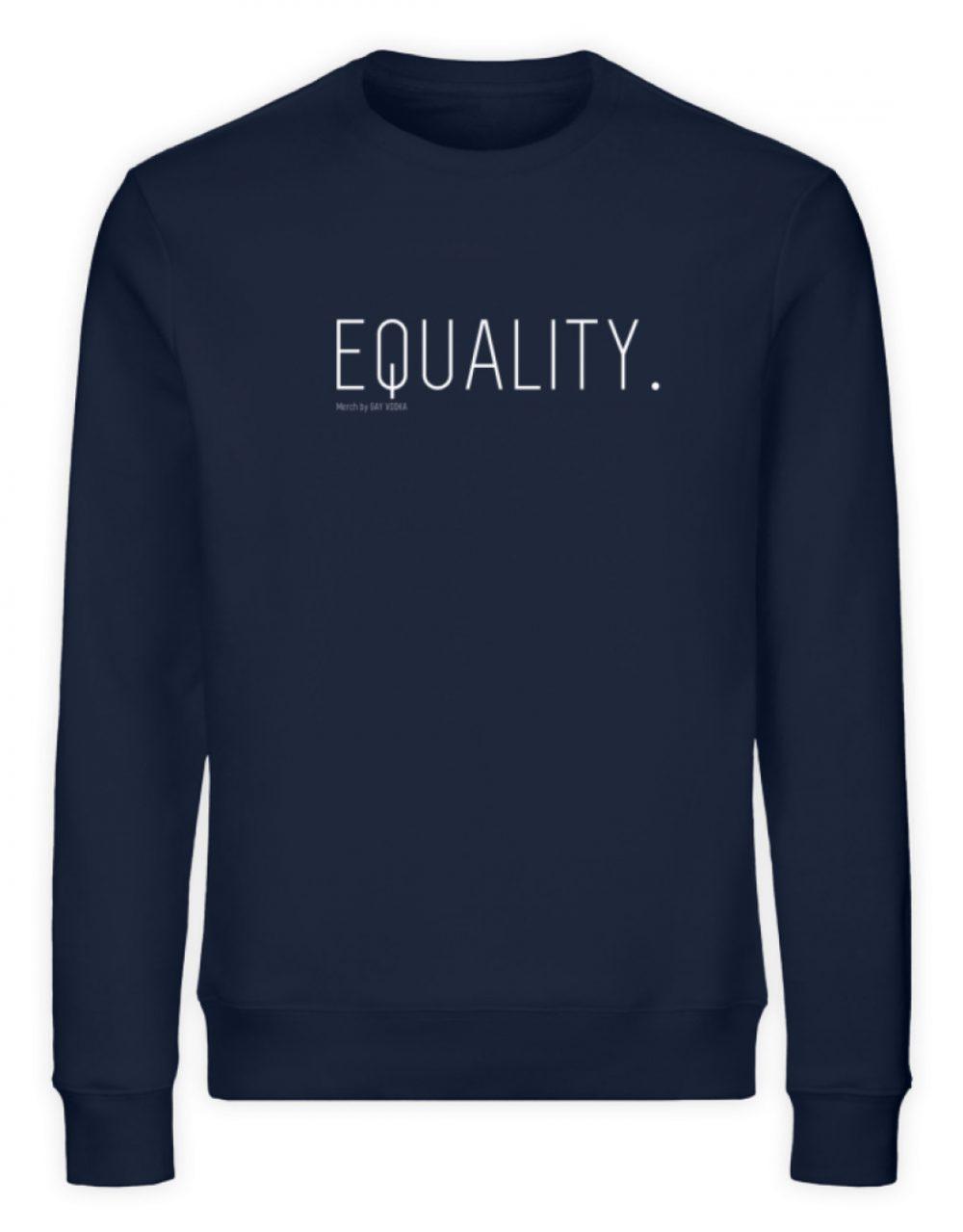 EQUALITY. - Unisex Organic Sweatshirt-6887