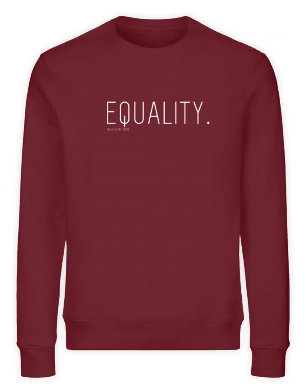 EQUALITY. - Unisex Organic Sweatshirt-6883