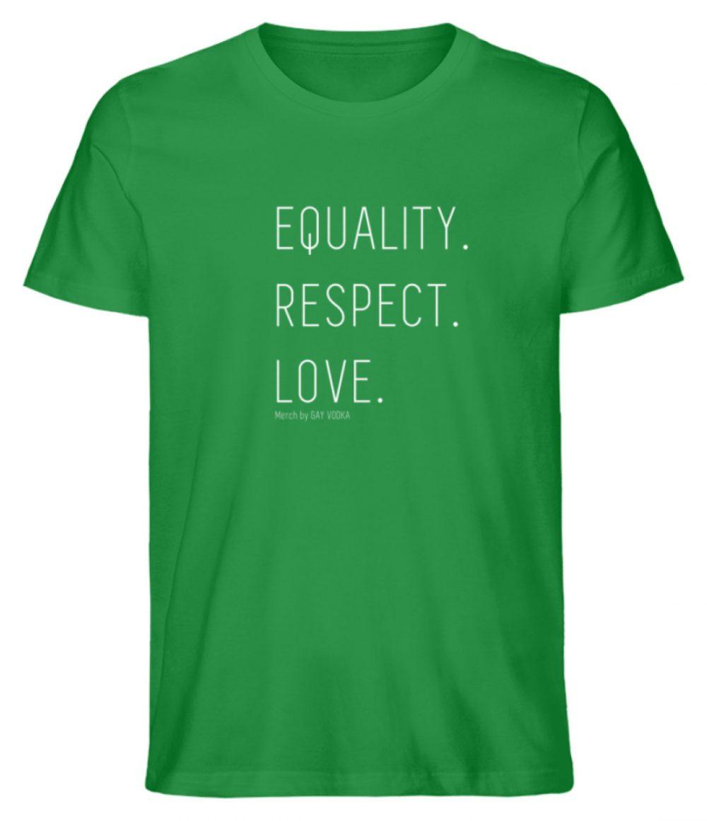 EQUALITY. RESPECT. LOVE. - Herren Premium Organic Shirt-6890
