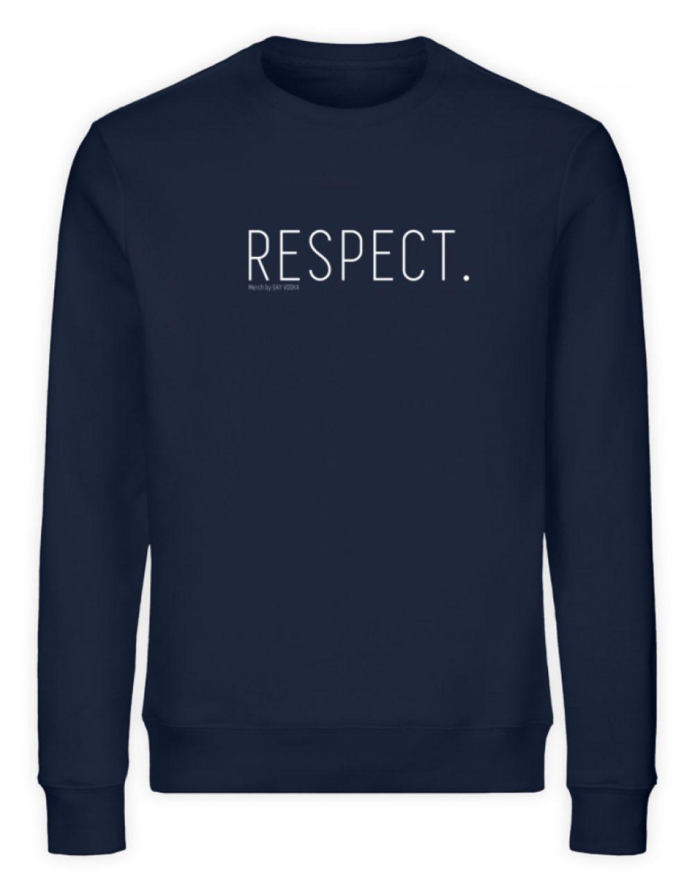 RESPECT. - Unisex Organic Sweatshirt-6887