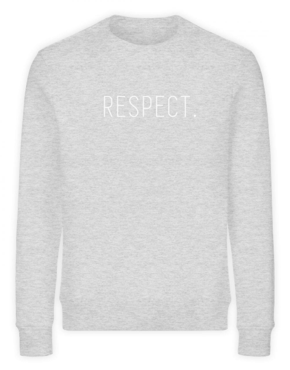 RESPECT. - Unisex Organic Sweatshirt-6892