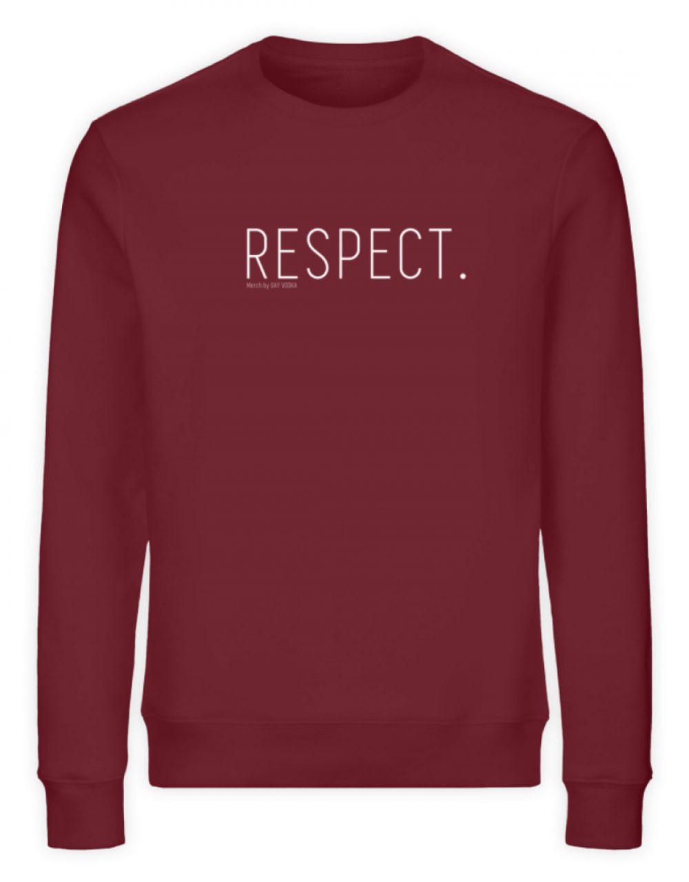 RESPECT. - Unisex Organic Sweatshirt-6883