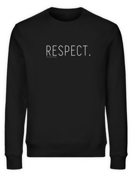 RESPECT. - Unisex Organic Sweatshirt-16