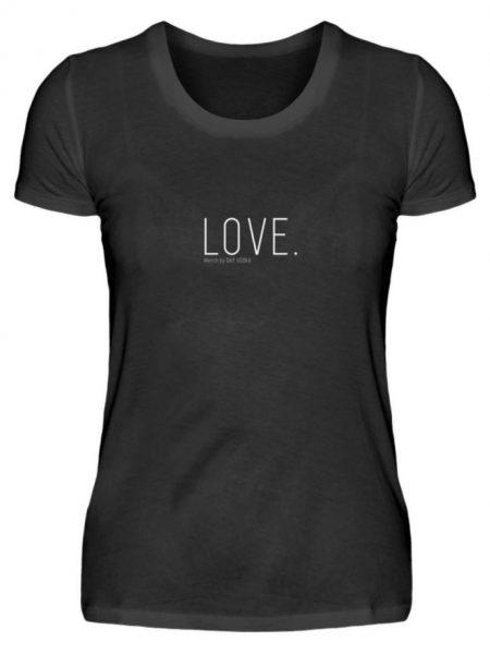 LOVE. - Damen Premiumshirt-16