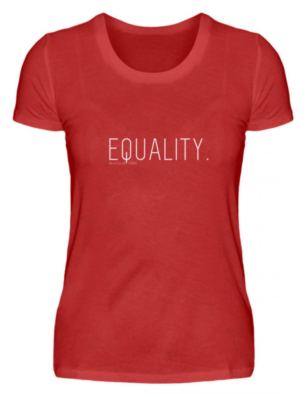 EQUALITY. - Damen Premiumshirt-4