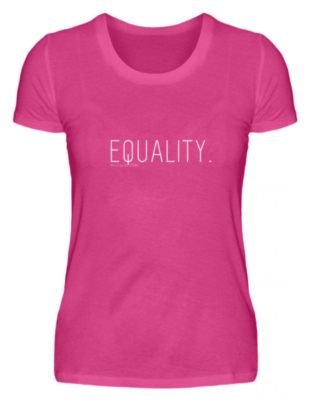 EQUALITY. - Damen Premiumshirt-28