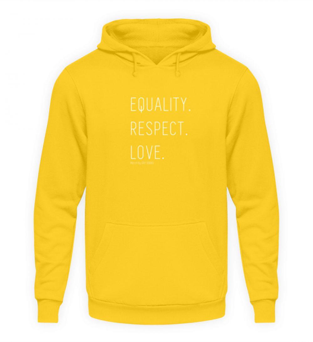 EQUALITY. RESPECT. LOVE. - Unisex Kapuzenpullover Hoodie-1774