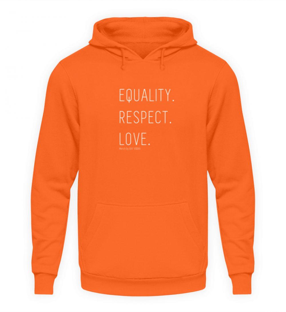 EQUALITY. RESPECT. LOVE. - Unisex Kapuzenpullover Hoodie-1692
