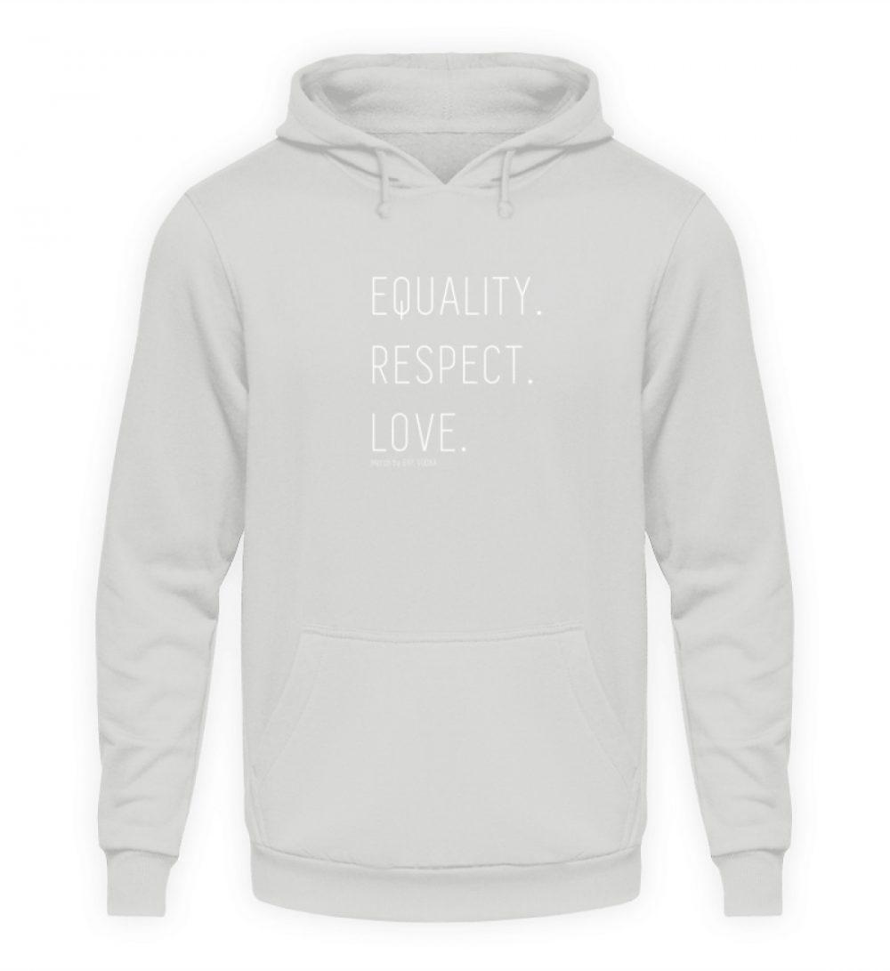 EQUALITY. RESPECT. LOVE. - Unisex Kapuzenpullover Hoodie-23