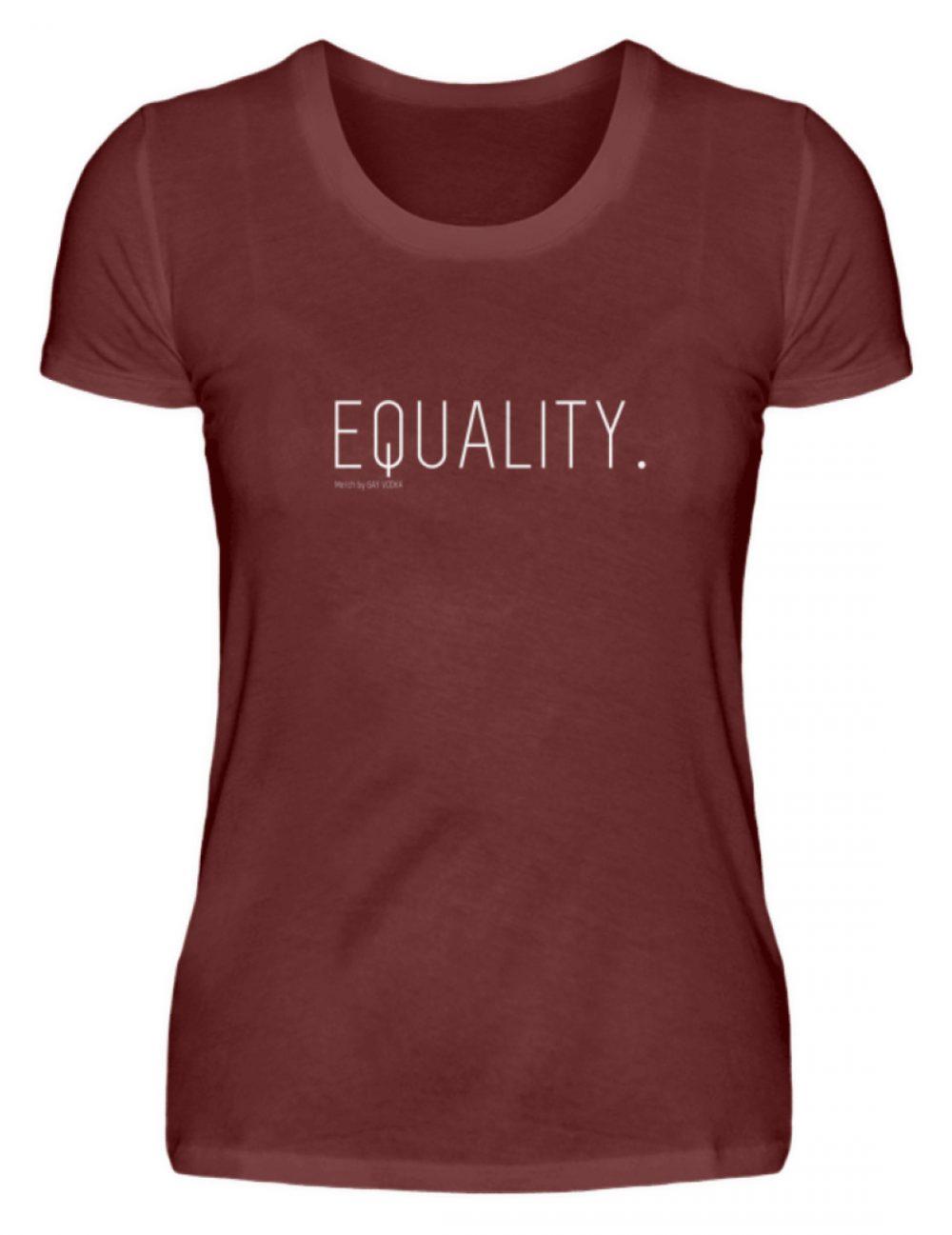EQUALITY. - Damen Premiumshirt-3192