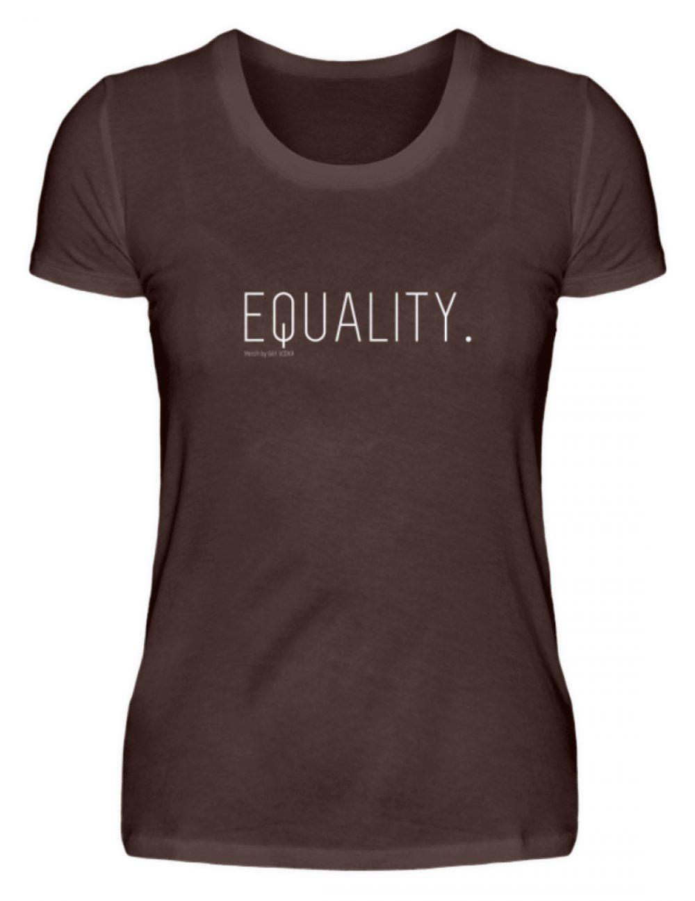 EQUALITY. - Damen Premiumshirt-1074