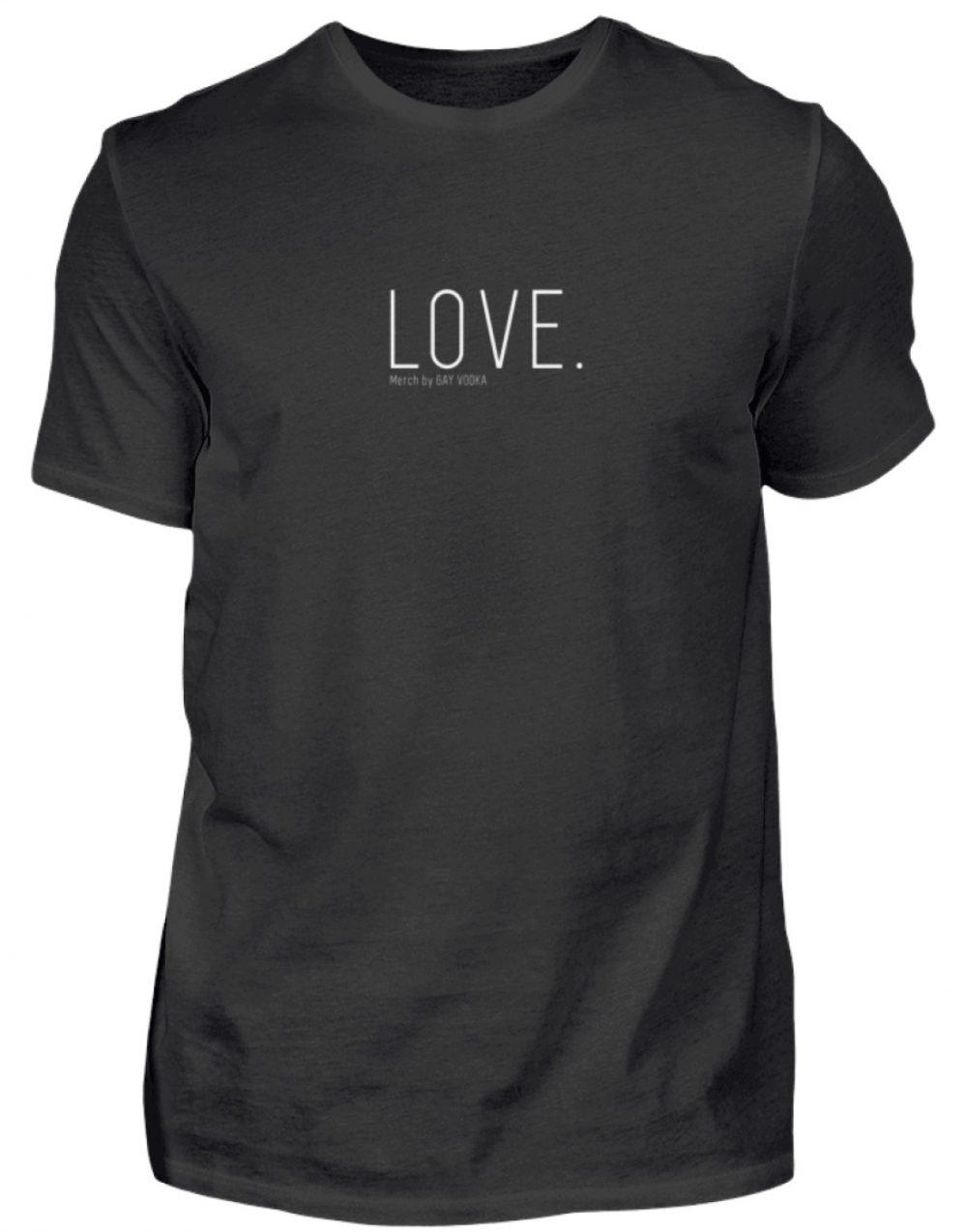 LOVE. - Herren Shirt-16