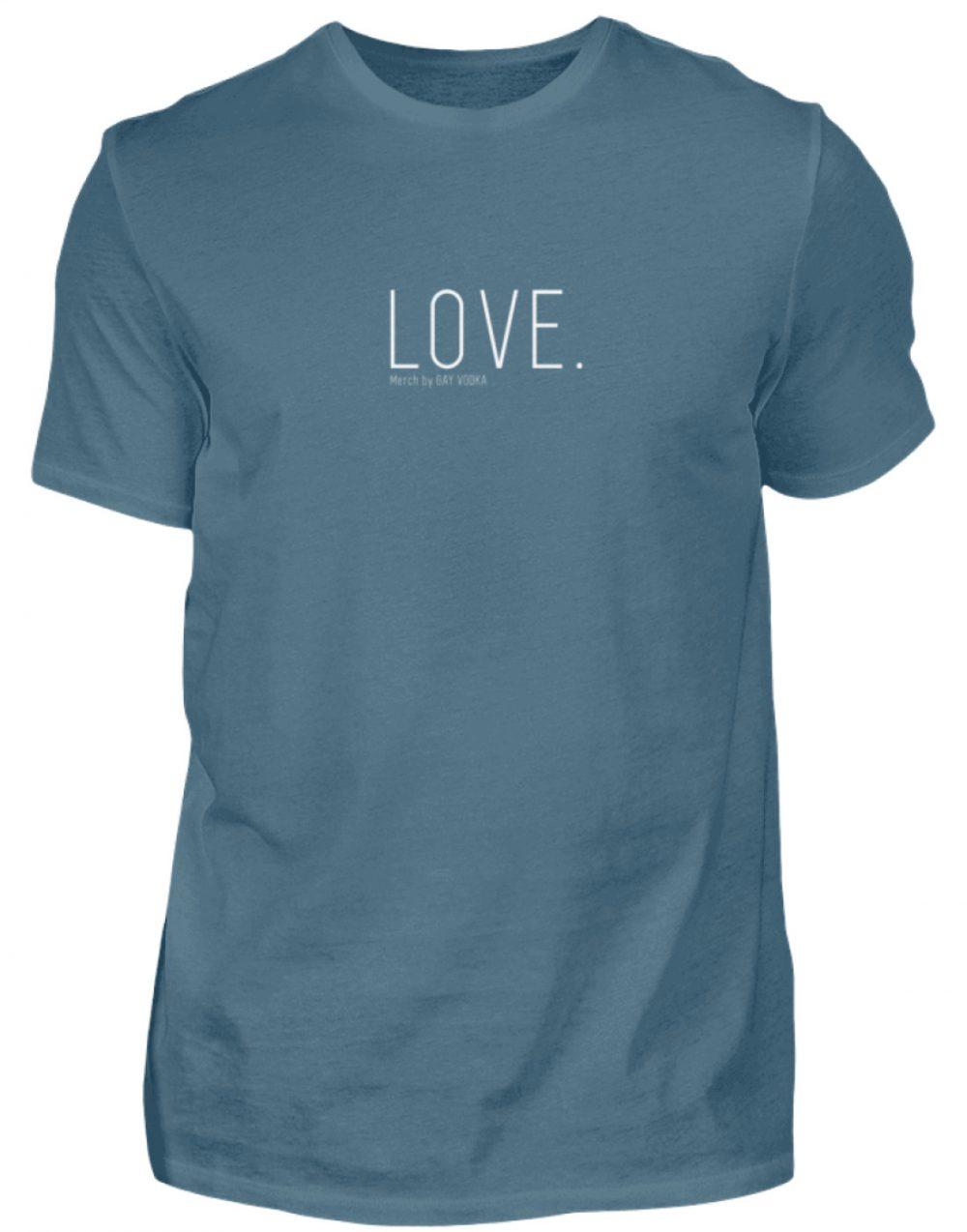LOVE. - Herren Shirt-1230