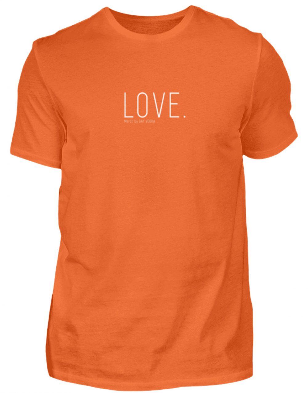 LOVE. - Herren Shirt-1692