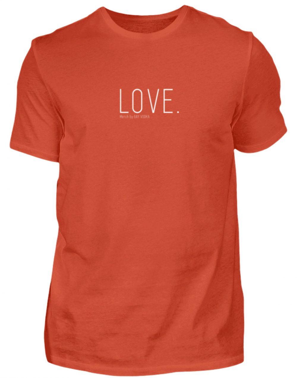 LOVE. - Herren Shirt-1236