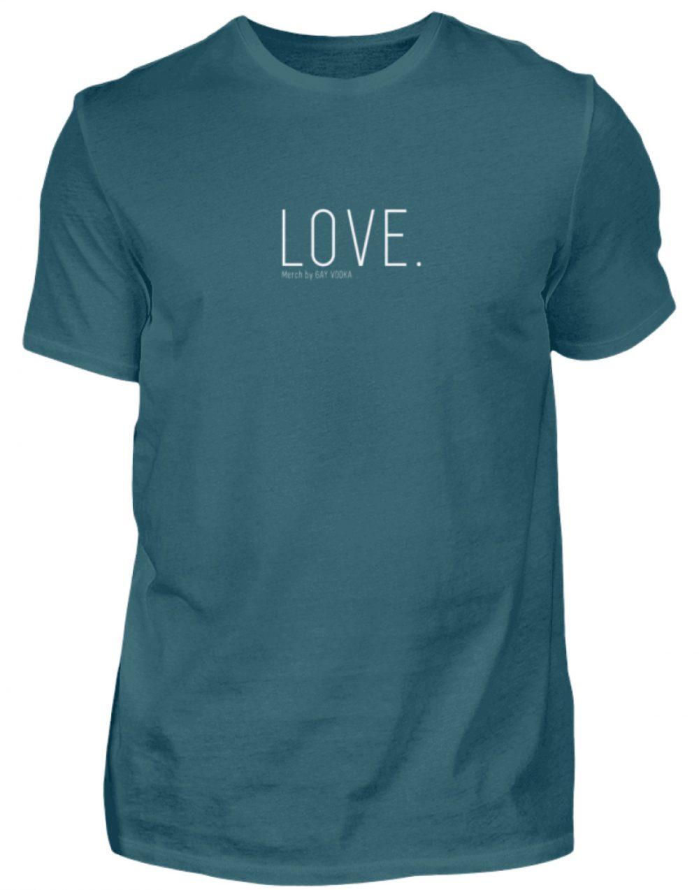 LOVE. - Herren Shirt-1096