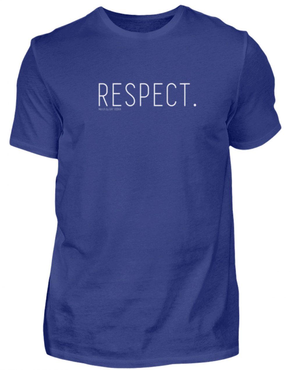 RESPECT. - Herren Premiumshirt-2962