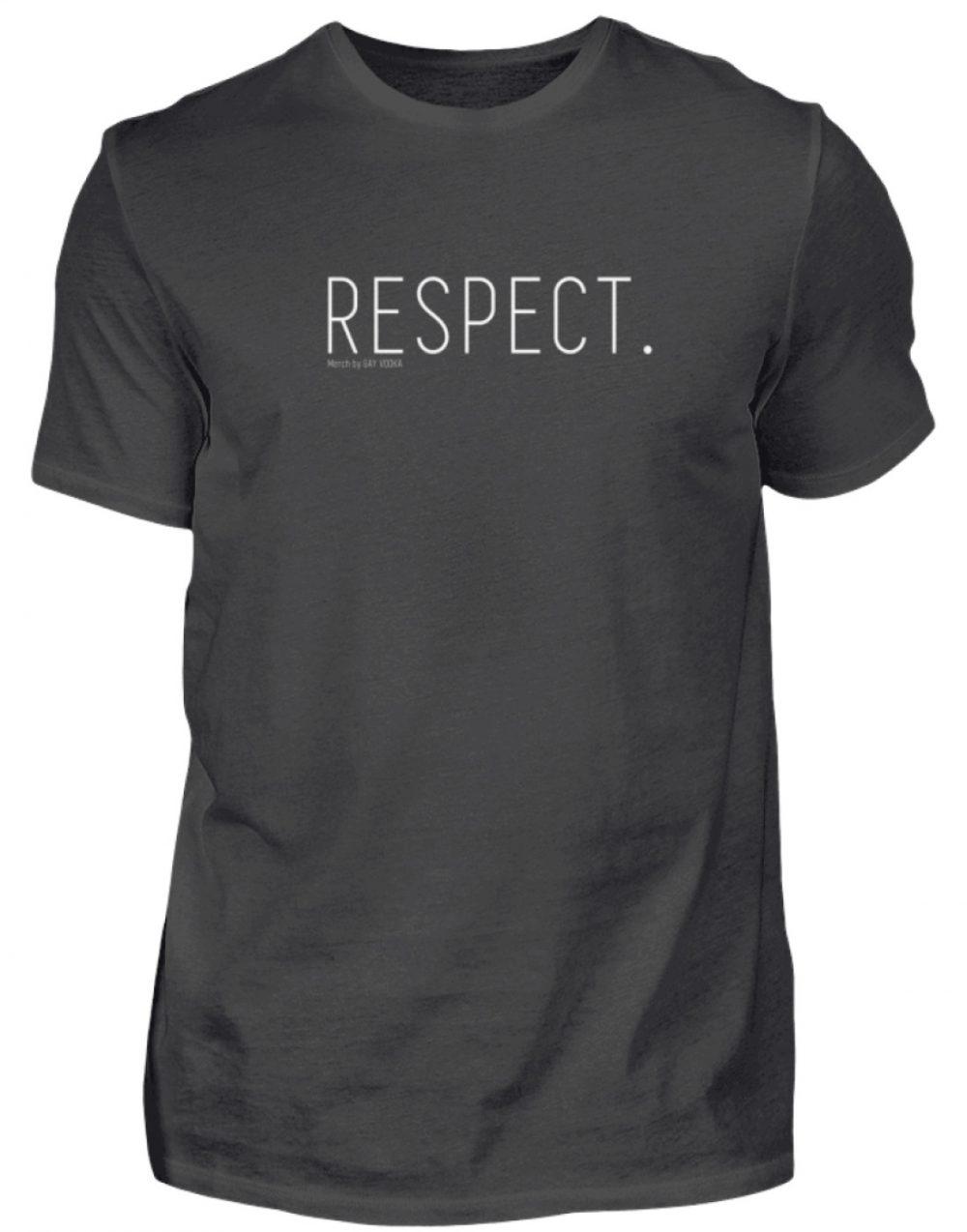 RESPECT. - Herren Premiumshirt-2989