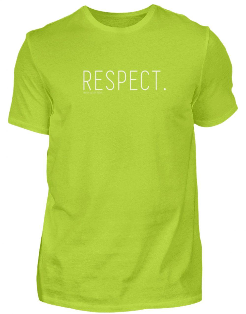 RESPECT. - Herren Premiumshirt-2885
