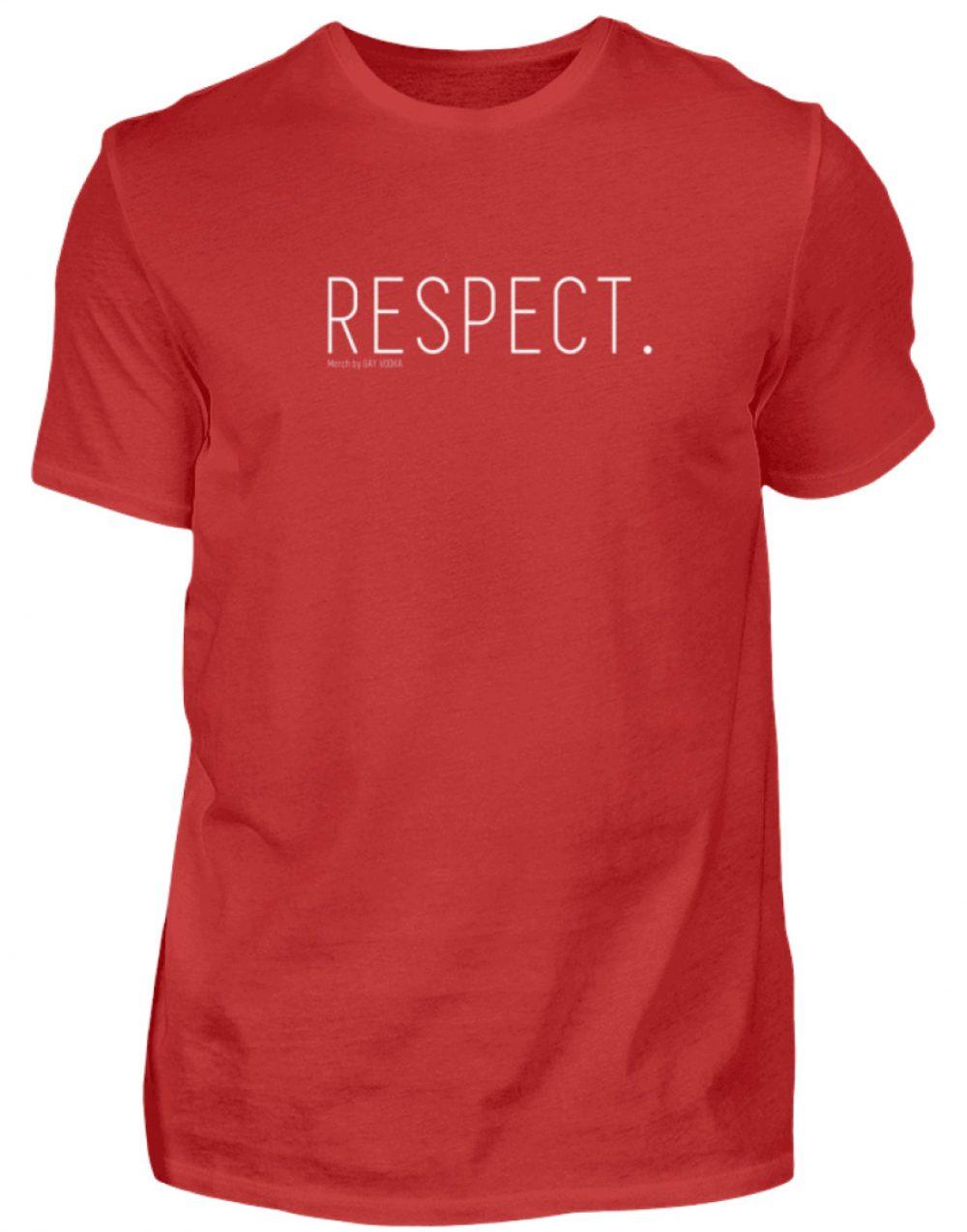 RESPECT. - Herren Premiumshirt-4