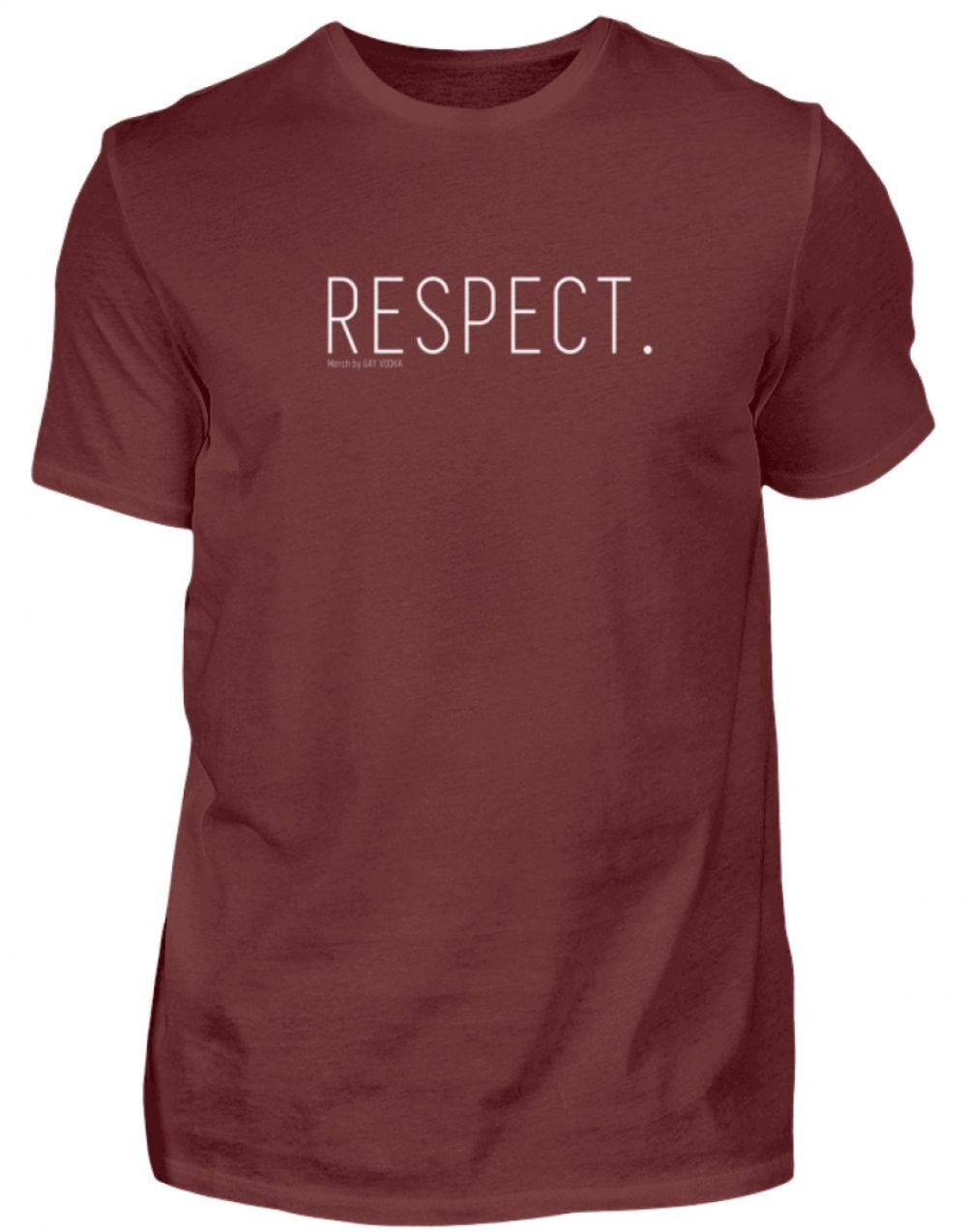 RESPECT. - Herren Premiumshirt-3192