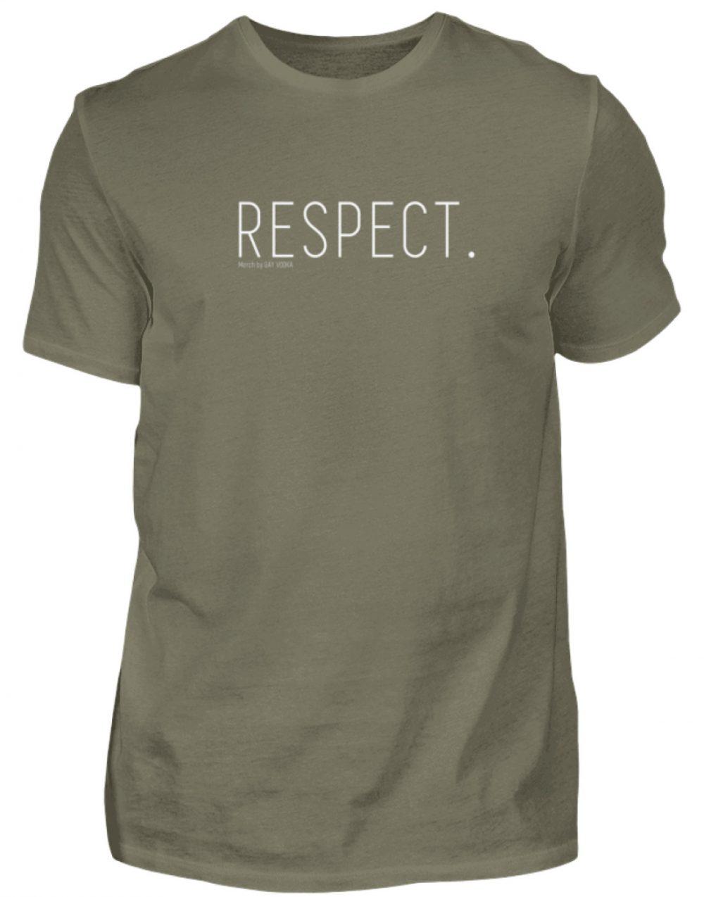 RESPECT. - Herren Premiumshirt-627