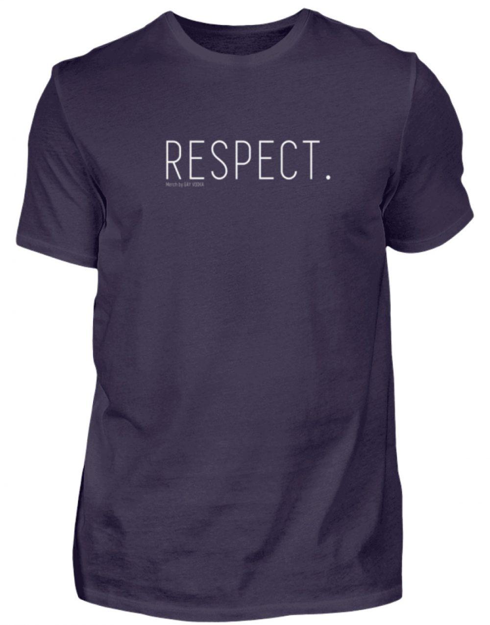 RESPECT. - Herren Premiumshirt-2911