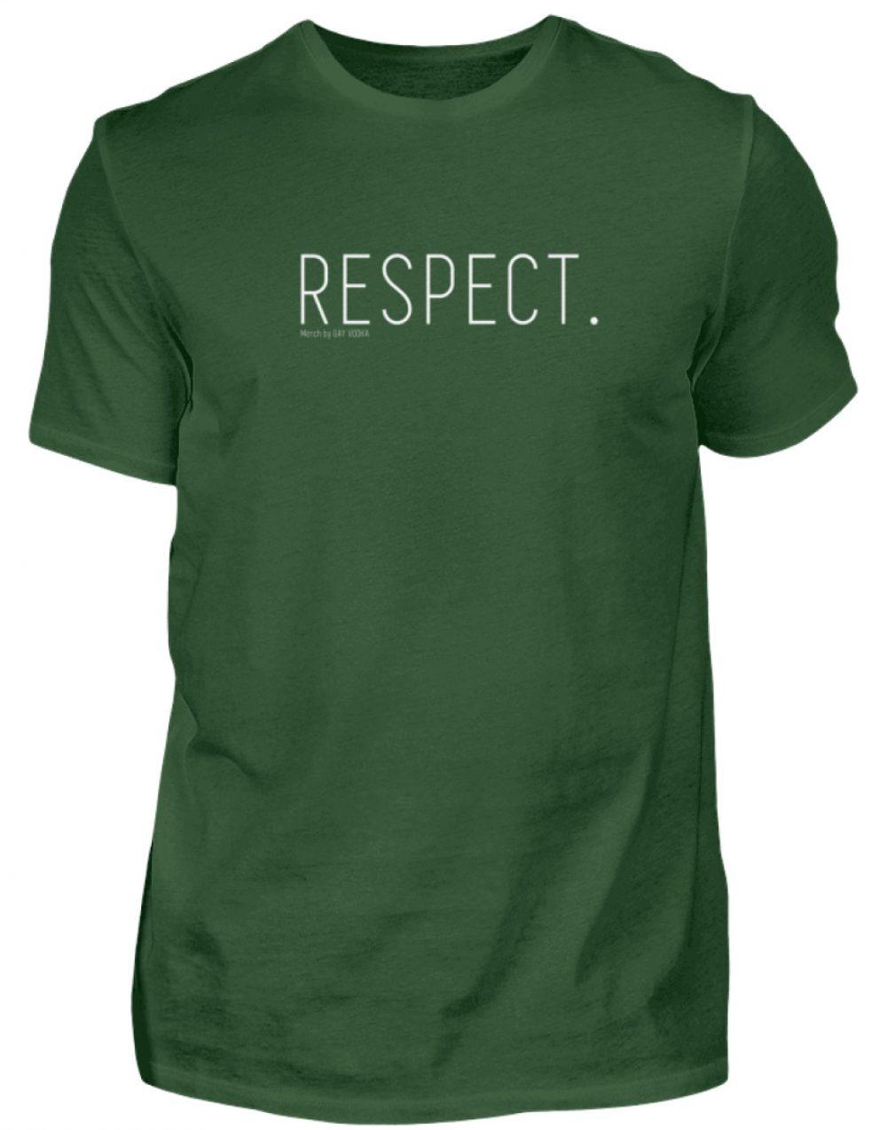 RESPECT. - Herren Premiumshirt-2936