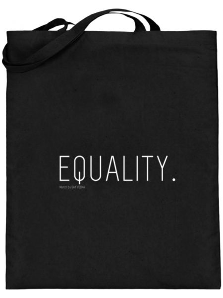 EQUALITY. - Jutebeutel (mit langen Henkeln)-16