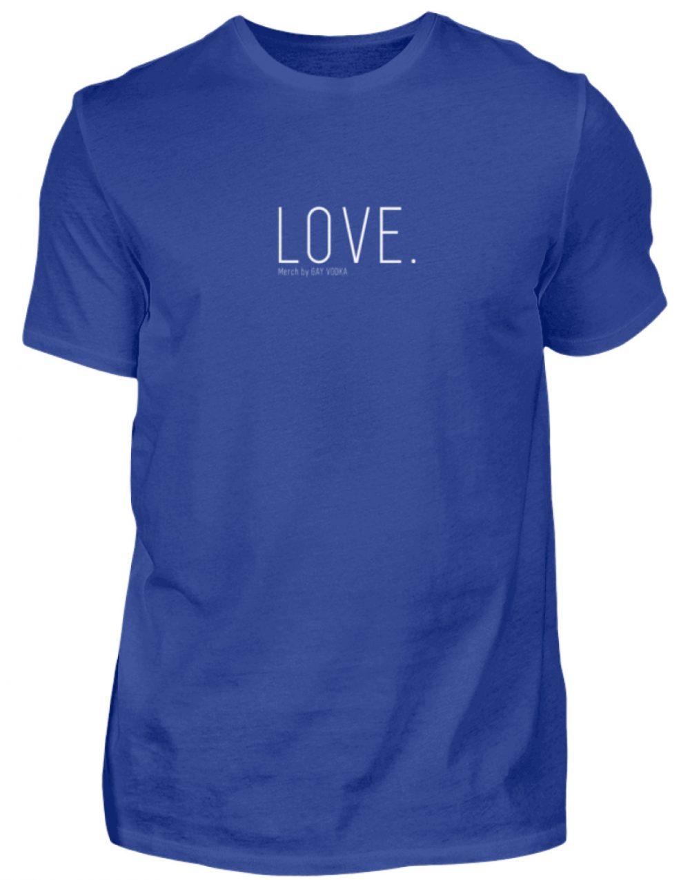LOVE. - Herren Premiumshirt-27