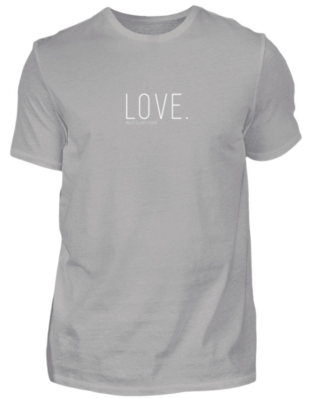 LOVE. - Herren Premiumshirt-2998