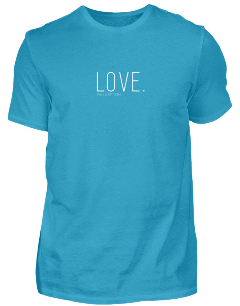 LOVE. - Herren Premiumshirt-3175