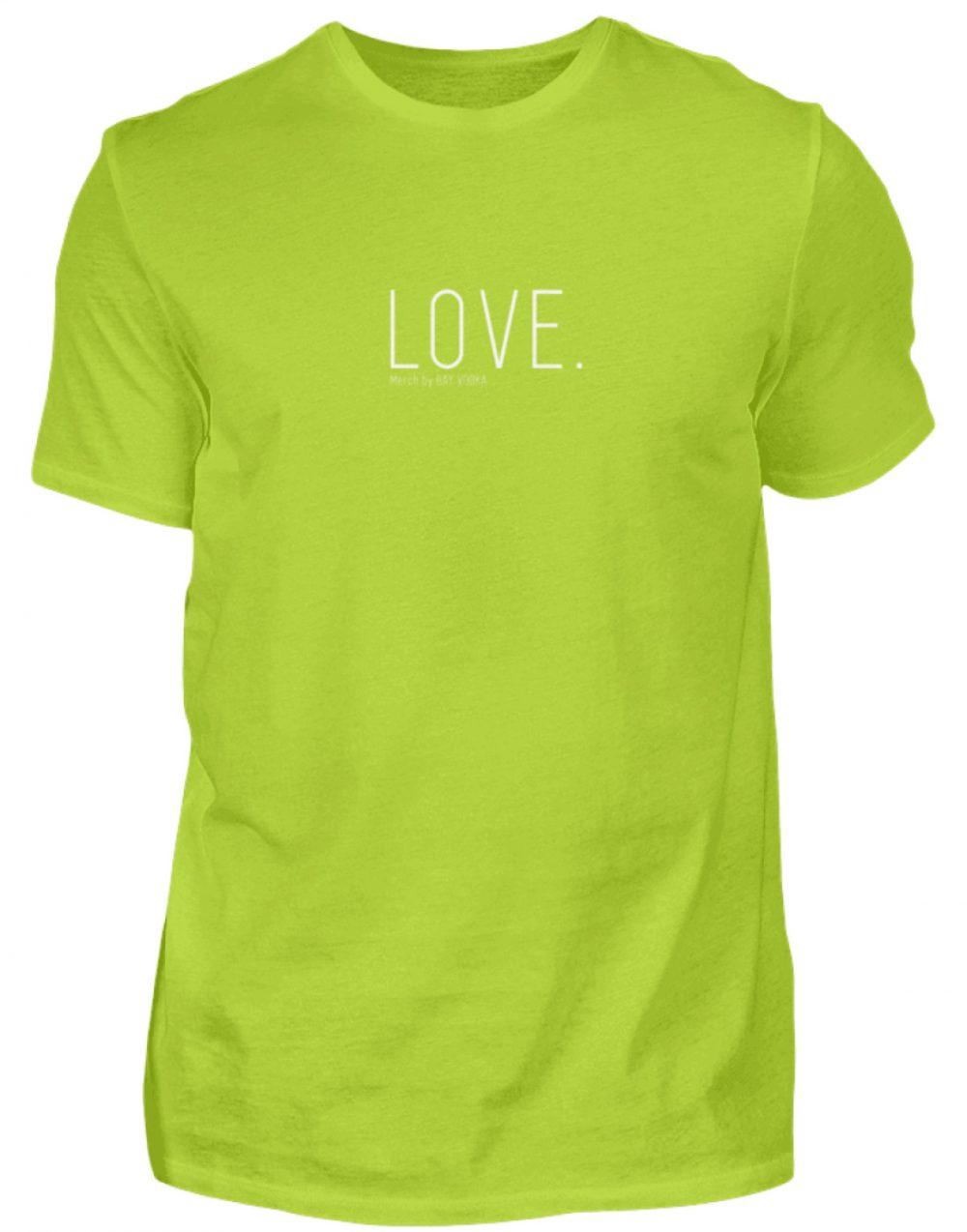 LOVE. - Herren Premiumshirt-2885