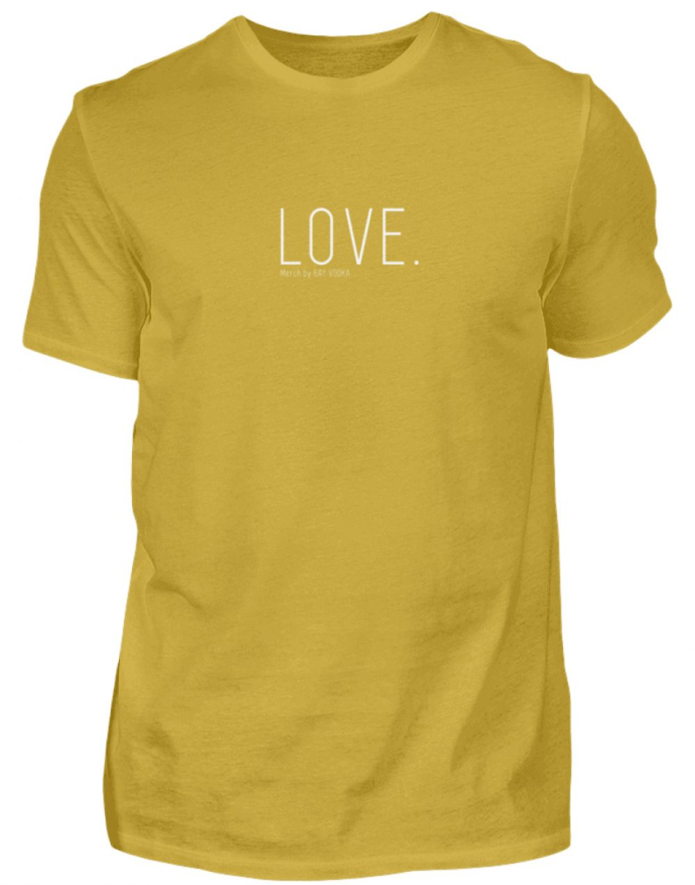 LOVE. - Herren Premiumshirt-2980