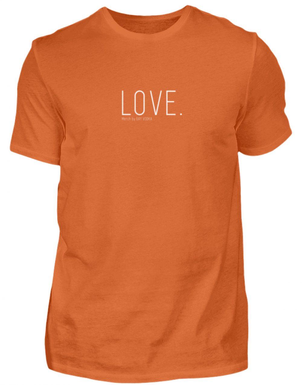 LOVE. - Herren Premiumshirt-2953