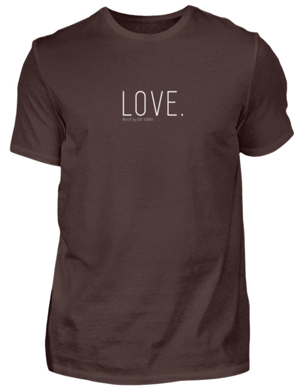 LOVE. - Herren Premiumshirt-1074