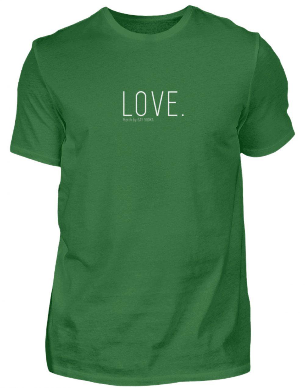 LOVE. - Herren Premiumshirt-30