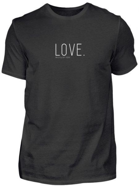 LOVE. - Herren Premiumshirt-16
