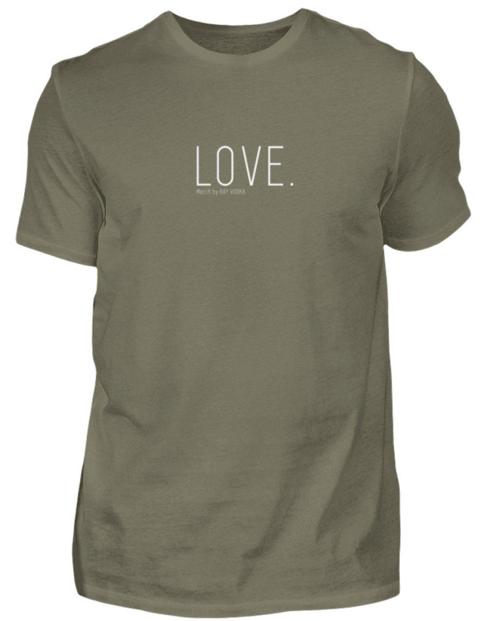 LOVE. - Herren Premiumshirt-627